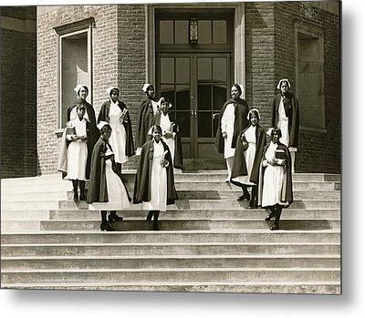 Lincoln School For Nurses Metal Print by Underwood Archives