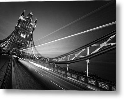 London Tower Bridge Metal Print by Nina Papiorek
