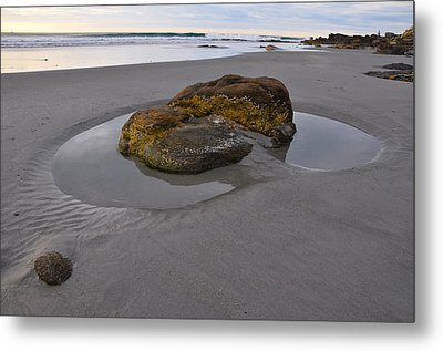 Longsands Rock Metal Print by Catherine Easton
