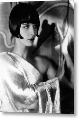 Louise Brooks, Ca. 1929 Metal Print by Everett