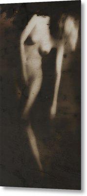 Love Longing - Erotic Art Metal Print by Falko Follert