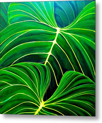 Lovely Greens Metal Print