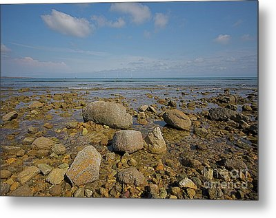 Metal Print featuring the photograph Low Tide by Nicola Fiscarelli