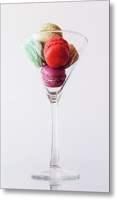 Macarons Metal Print by Happy Home Artistry