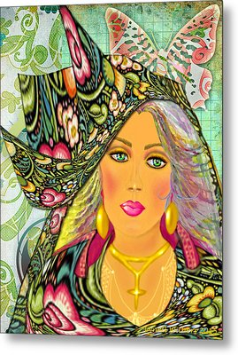 Madelyn Metal Print by Lynell Withers