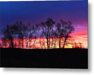 Magical Sunrise Metal Print