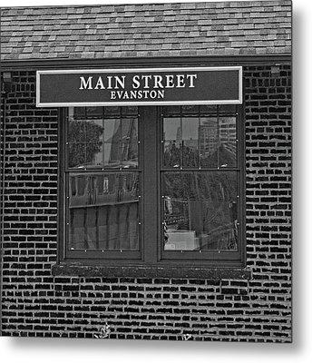 Main Street Station Metal Print by Michael Flood