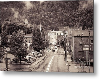 Metal Print featuring the photograph Main Street Webster Springs by Thomas R Fletcher