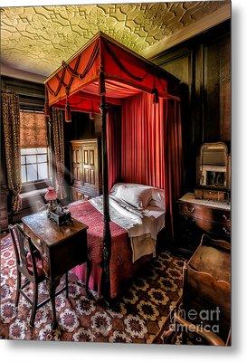 Mansion Bedroom Metal Print