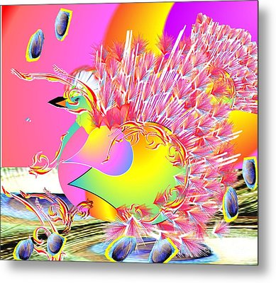 Many Colors Metal Print by Belinda Threeths