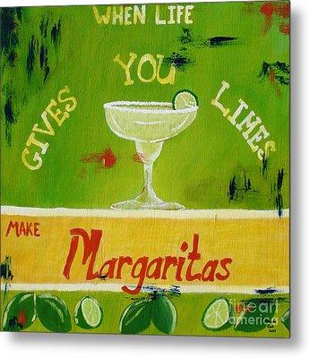 Margaritas Metal Print
