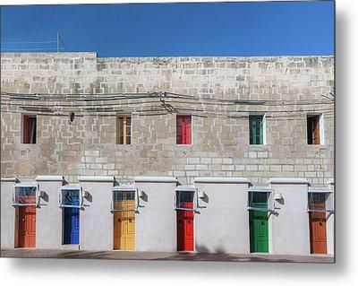 Marsaxlokk - Malta Metal Print by Joana Kruse