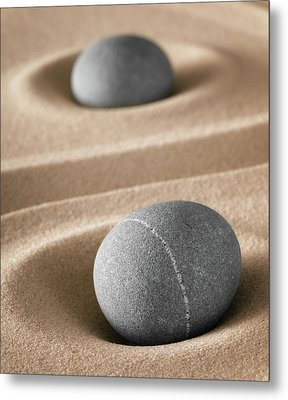 Metal Print featuring the photograph Meditation Stones by Dirk Ercken