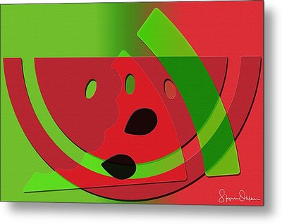 Melon - Signed Limited Edition Metal Print by Steve Ohlsen