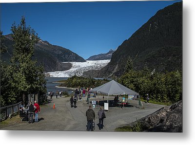 Mendenhall Glacier Metal Print by Robin Williams