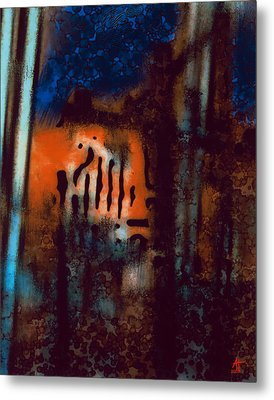 Message 3 Metal Print by Ann Tracy