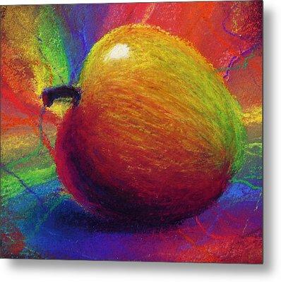 Metaphysical Apple Metal Print