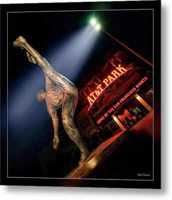 Midnight Windup Metal Print by Blake Richards