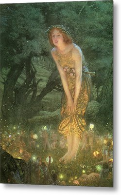 Midsummer Eve Metal Print