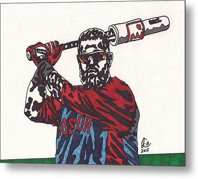 Mike Napoli 2 Metal Print