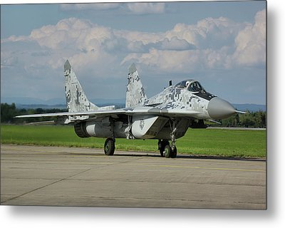 Metal Print featuring the photograph Mikoyan-gurevich Mig-29as by Tim Beach