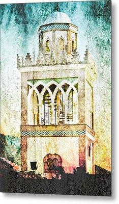 Minaret Metal Print by Tom Gowanlock