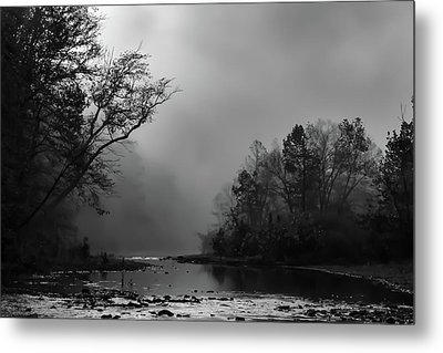 Metal Print featuring the photograph Mist On The River by James Barber