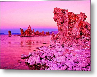 Mono Lake Dawn Metal Print by Dennis Cox