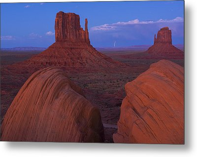 Monument Valley Metal Print by Christian Heeb