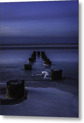 Moon Glow Metal Print by Steve DuPree