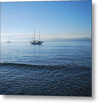 Morning Clouds Metal Print by George Katechis
