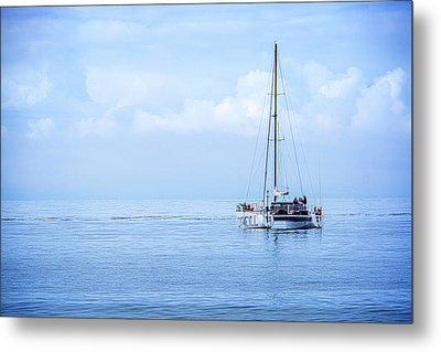 Morning Sail Metal Print by James Hammond