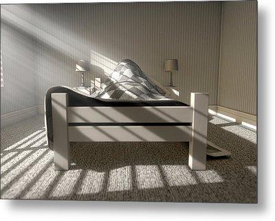 Morning Sleep In Metal Print by Allan Swart