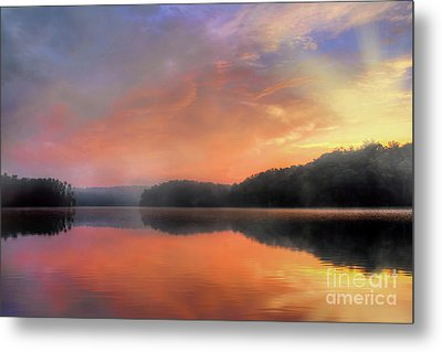 Metal Print featuring the photograph Morning Solitude by Darren Fisher