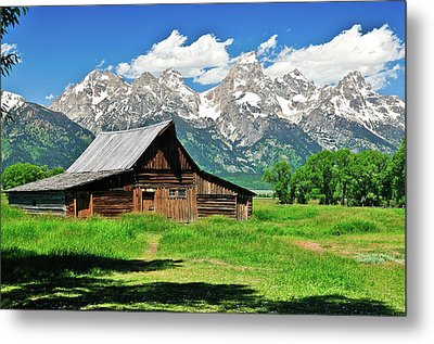 Moulton Barn Metal Print by Greg Norrell
