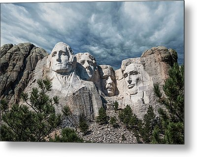 Mount Rushmore II Metal Print