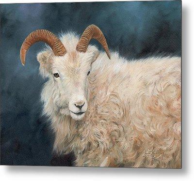Mountain Goat Metal Print by David Stribbling