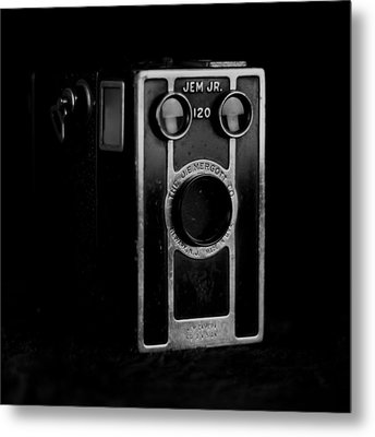 Metal Print featuring the photograph My Dad's Camera by Jeremy Lavender Photography