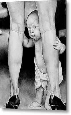 My Mommy Metal Print by Curtis James