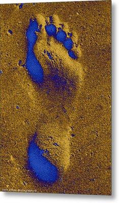 My Right Foot Metal Print by Isaac Silman