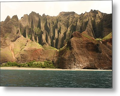 Metal Print featuring the photograph Napali Coast by Andrei Fried