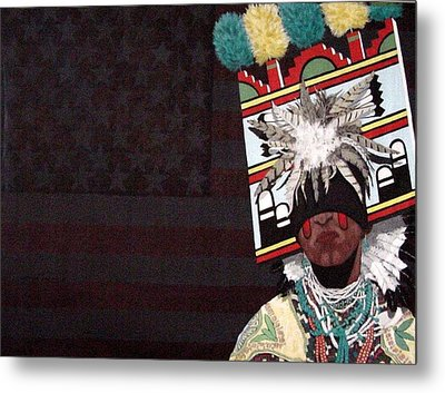 Native Dancer Metal Print by Bernard Goodman