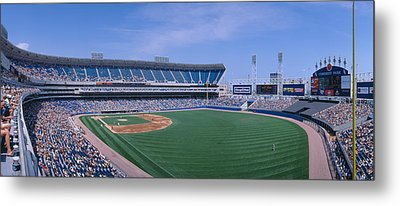New Comiskey Park, Chicago, White Sox Metal Print by Panoramic Images