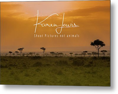 Metal Print featuring the photograph New Day On The Mara by Karen Lewis