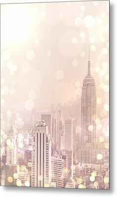 New York City - Skyline Dream Metal Print by Vivienne Gucwa