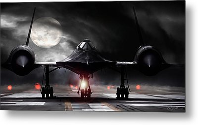 Night Moves Metal Print by Peter Chilelli