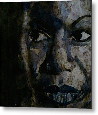 Nina Simone  Metal Print by Paul Lovering
