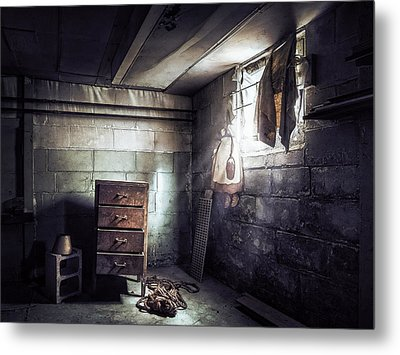 No Escape II Metal Print by Scott Norris
