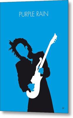 No009 My Prince Minimal Music Poster Metal Print by Chungkong Art