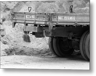 Not For Hire Metal Print by Jez C Self